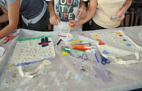 סדנת אומנות שימושית לילדים בקניון שבעת הכוכבים