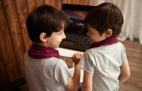 הצד האחר של המחשב – פעילויות מרחוק לילדים