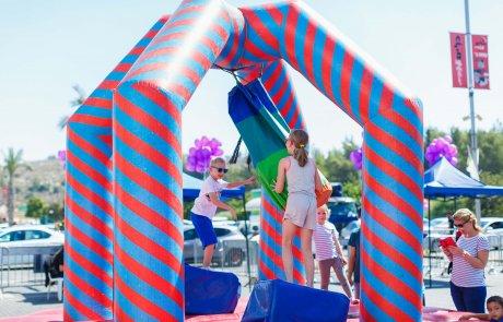 פסטיבל סוכות אקסטרים אריאל והשנה בסימן- WIPARK נינג'ה ישראל!
