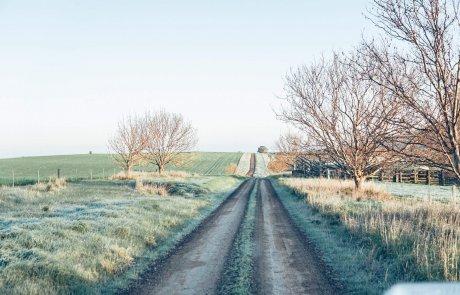 מסלולי חורף בארץ