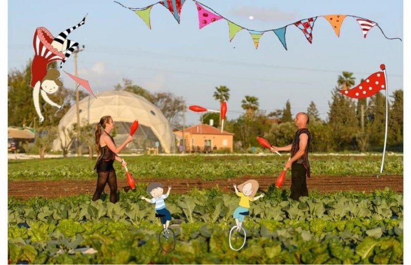 סוכות בקרקס החקלאי!