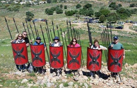 טיול לגן לאומי תל יודפת בגליל התחתון