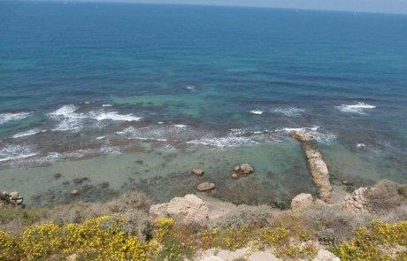 טיול לגן לאומי אפולוניה ליד הרצליה