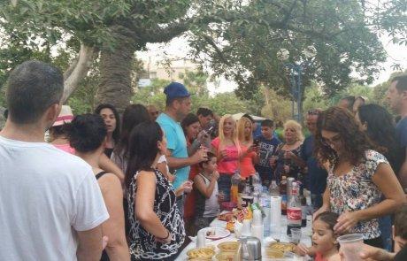 מפגש חברי קבוצת מה עושים בשבת בפארק פרס בחולון- אורית ממליצה