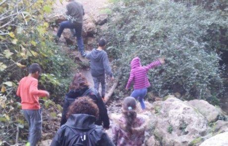 טיול לנחל מירון שבגליל העליון