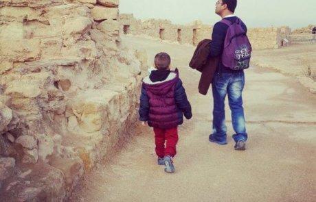 טיול לגן לאומי מצדה ליד ים המלח