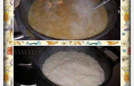 מרק עדשים שחורים