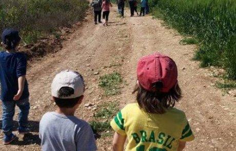 טיול ליער חולדה 'בית הרצל' ממזרח לרחובות – צעדת הרצל המסורתית