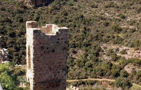 טיול למבצר מונפורט בגליל המערבי