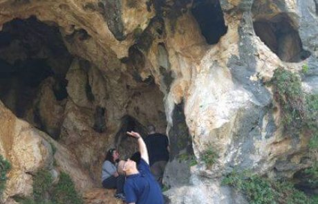 טיול לשמורת הטבע נחל המערות בכרמל