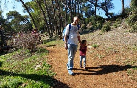מסלול טיול בשביל פסגה בהר תבור