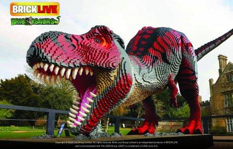 """תערוכת הלגו """"ממלכת הדינוזאורים"""" שכבשה את העולם! מגיעה להיכל טוטו חולון"""