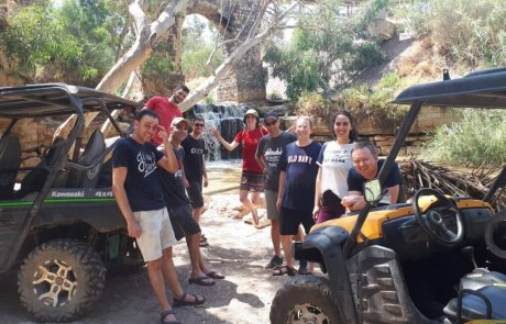 טיולי שטח ברייזר בנהיגה עצמית  וטיול במעיינות הטבעיים בעמק המעיינות