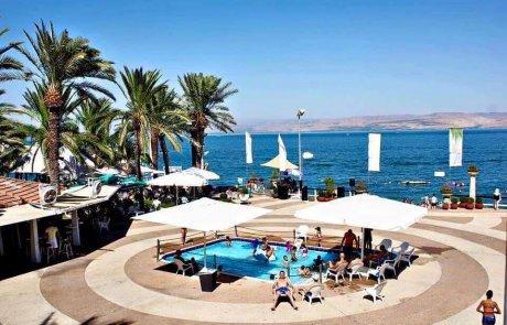 חוף התכלת בטבריה – חלום של חוף!