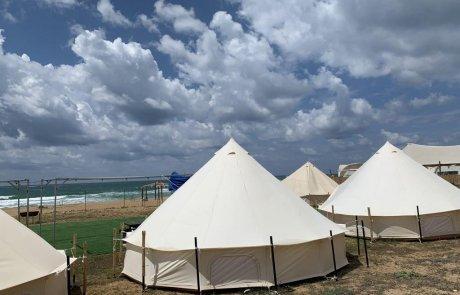 קרוואן קמפ חוף בצת – החוף היפה בארץ!