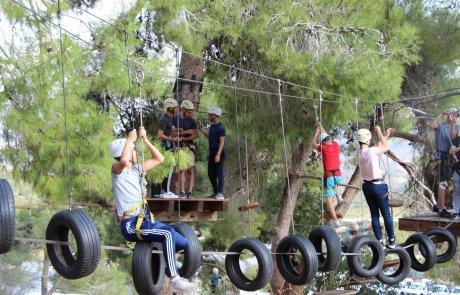 אתגר בהר – פארק חבלים אתגרי