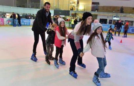 פעילות קרירה וספורטיבית בהיכל הקרח חולון