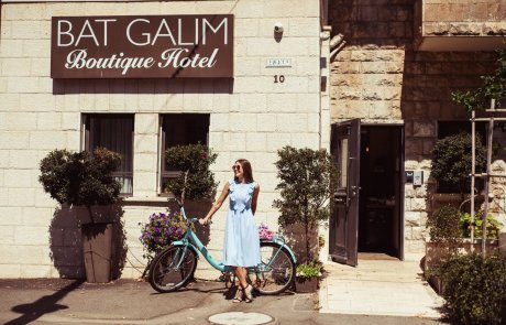 """מלון בוטיק בת גלים – אירוח באווירה של חו""""ל בחיפה"""