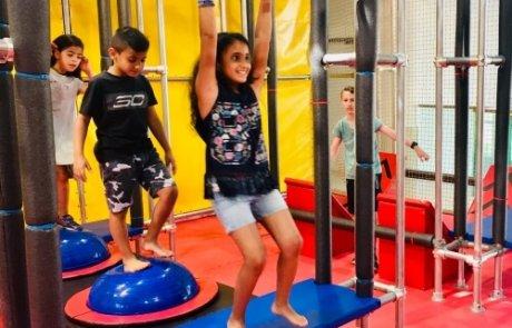 נינג'ה טיים –  פעילות ספורטיבית ומאתגרת לילדים!